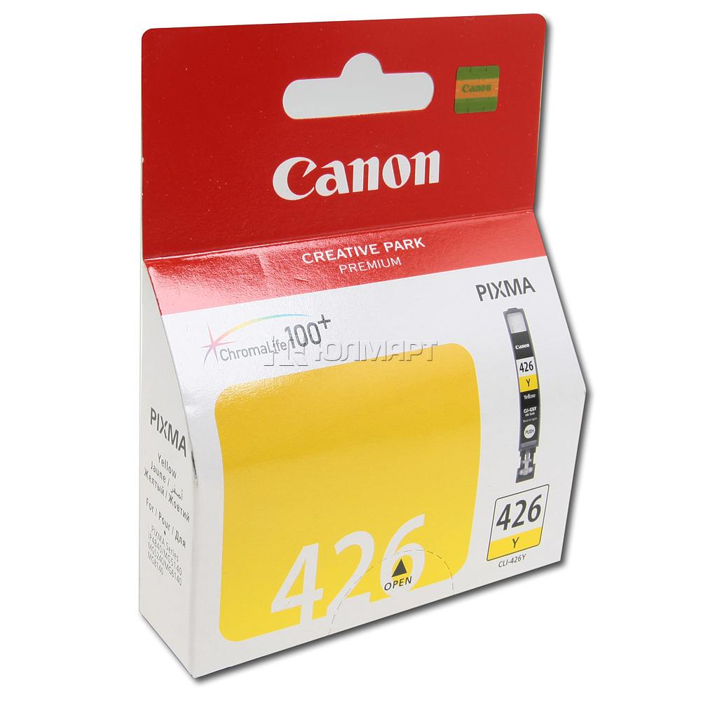 Инструкция по заправке картриджей Canon Pixma MG6140 Cli-426