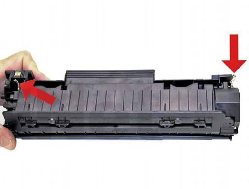 Инструкция по заправке картриджей CE278A - HP 78A