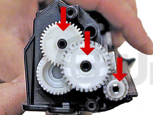 Инструкция по заправке картриджей HP CE285A - HP 85A