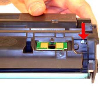 Инструкция по заправке картриджа HP LaserJet 1300 - №4 Как заправить HP 1300