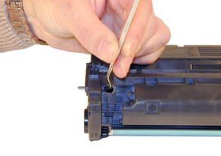Инструкция по заправке картриджа HP LaserJet 1300 - №5 Как заправить HP 1300