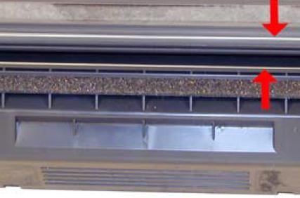 Инструкция по заправке картриджа HP LaserJet 1300 - №28 Как заправить HP 1300