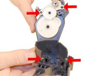 Инструкция по заправке картриджа HP LaserJet 1300 - №33 Как заправить HP 1300