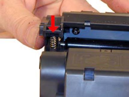 Инструкция по заправке картриджа HP LaserJet 1300 - №35 Как заправить HP 1300