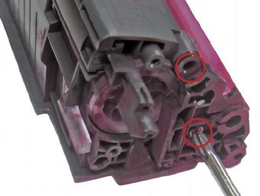 Инструкция по заправке картриджа HP Color LaserJet 1500 - №9 Как заправить HP 1500