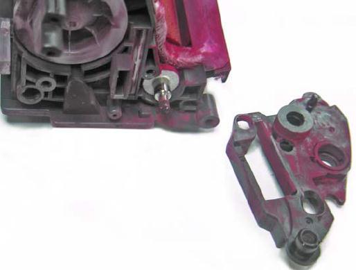 Инструкция по заправке картриджа HP Color LaserJet 1500 - №10 Как заправить HP 1500