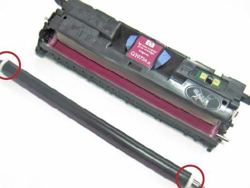 Инструкция по заправке картриджа HP Color LaserJet 1500 - №12 Как заправить HP 1500
