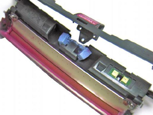 Инструкция по заправке картриджа HP Color LaserJet 1500 - №15 Как заправить HP 1500