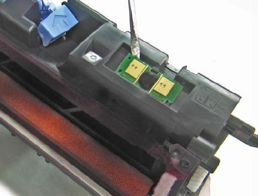 Инструкция по заправке картриджа HP Color LaserJet 1500 - №21 Как заправить HP 1500