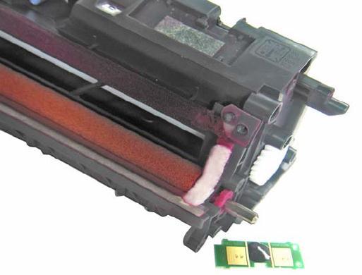 Инструкция по заправке картриджа HP Color LaserJet 1500 - №22 Как заправить HP 1500
