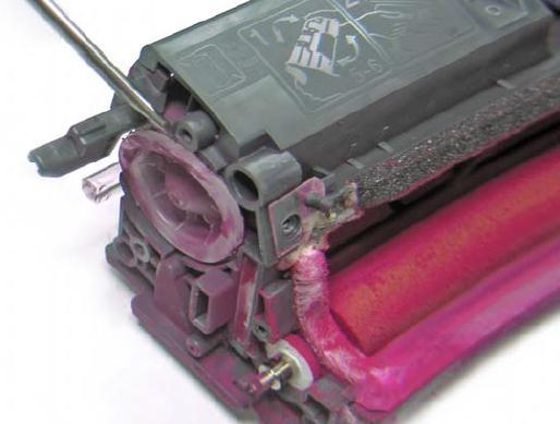 Инструкция по заправке картриджа HP Color LaserJet 1500 - №23 Как заправить HP 1500
