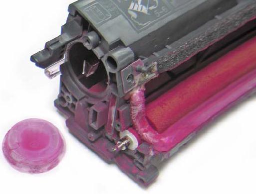 Инструкция по заправке картриджа HP Color LaserJet 1500 - №24 Как заправить HP 1500