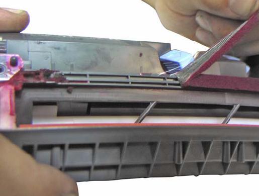Инструкция по заправке картриджа HP Color LaserJet 1500 - №25 Как заправить HP 1500
