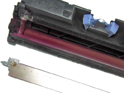 Инструкция по заправке картриджа HP Color LaserJet 1500 - №27 Как заправить HP 1500