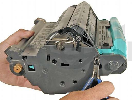 Инструкция по заправке картриджа HP Color LaserJet 1500 - №30 Как заправить HP 1500