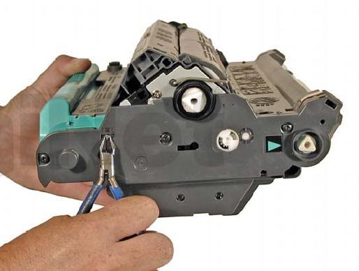 Инструкция по заправке картриджа HP Color LaserJet 1500 - №31 Как заправить HP 1500