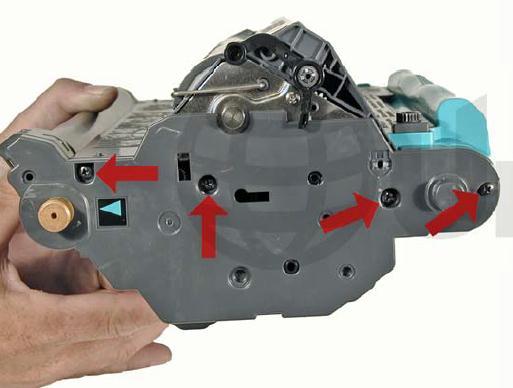 Инструкция по заправке картриджа HP Color LaserJet 1500 - №32 Как заправить HP 1500