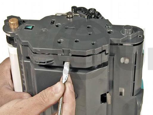 Инструкция по заправке картриджа HP Color LaserJet 1500 - №33 Как заправить HP 1500