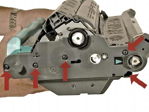 Инструкция по заправке картриджа HP Color LaserJet 1500 №36 - Как заправить HP 1500