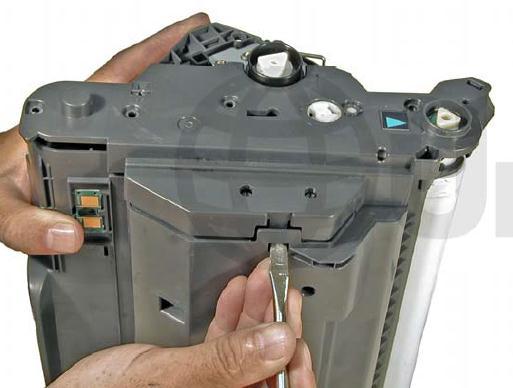 Инструкция по заправке картриджа HP Color LaserJet 1500 - №37 Как заправить HP 1500