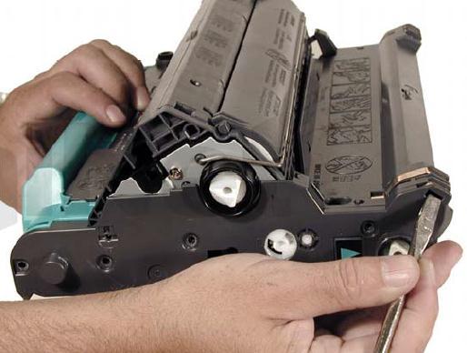 Инструкция по заправке картриджа HP Color LaserJet 1500 - №38 Как заправить HP 1500