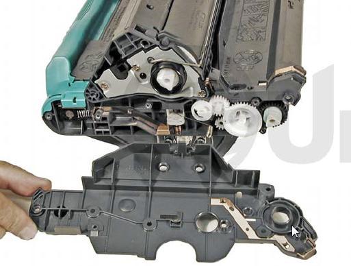 Инструкция по заправке картриджа HP Color LaserJet 1500 - №39 Как заправить HP 1500