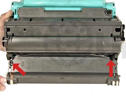 Инструкция по заправке картриджа HP Color LaserJet 1500 - №40 Как заправить HP 1500