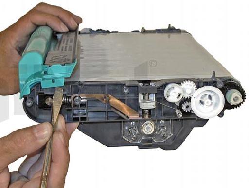 Инструкция по заправке картриджа HP Color LaserJet 1500 - №44 Как заправить HP 1500