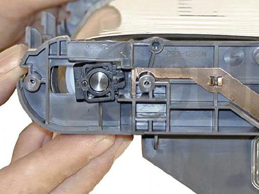 Инструкция по заправке картриджа HP Color LaserJet 1500 - №47 Как заправить HP 1500