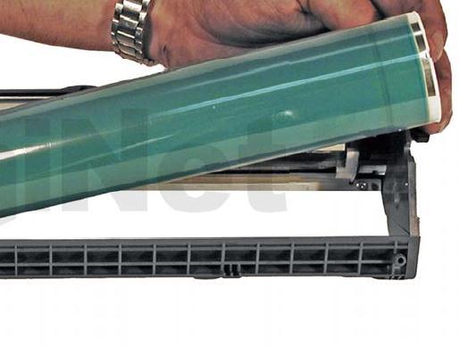 Инструкция по заправке картриджа HP Color LaserJet 1500 - №74 Как заправить HP 1500