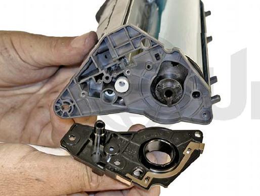 Инструкция по заправке картриджа HP Color LaserJet 1500 - №82 Как заправить HP 1500