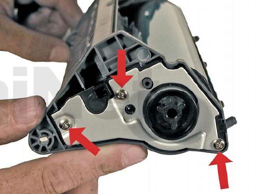Инструкция по заправке картриджа HP Color LaserJet 1500 - №83 Как заправить HP 1500