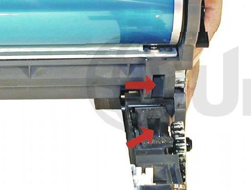 Инструкция по заправке картриджа HP Color LaserJet 1500 - №86 Как заправить HP 1500