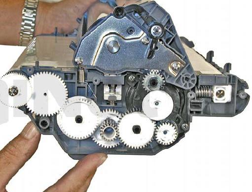 Инструкция по заправке картриджа HP Color LaserJet 1500 - №87 Как заправить HP 1500