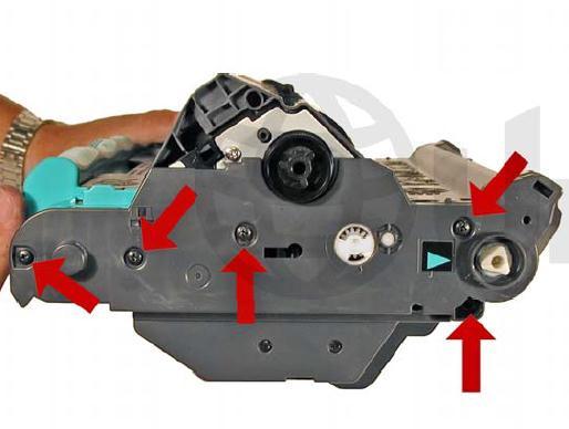 Инструкция по заправке картриджа HP Color LaserJet 1500 - №93 Как заправить HP 1500
