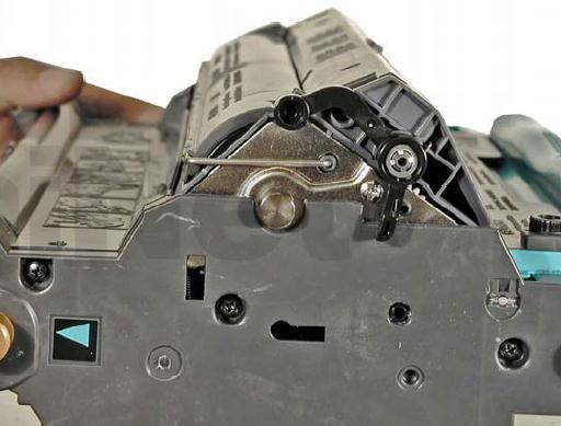 Инструкция по заправке картриджа HP Color LaserJet 1500 - №98 Как заправить HP 1500